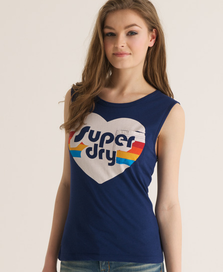 Superdry Love Dance T-shirt Navy