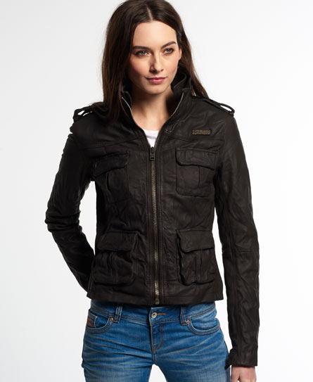 Leather jacket for women sale