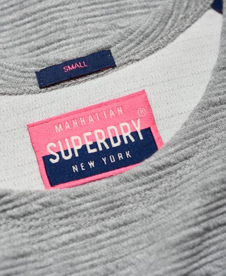 Superdry Wave Textured Skater Dress