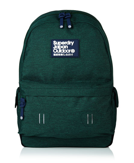 bistro green Superdry Real Montana Rucksack