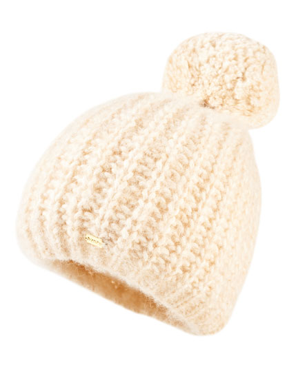 washed caramel Superdry Super Luxe Beanie