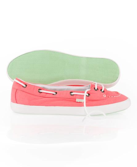 Superdry Boat Shoe Pink