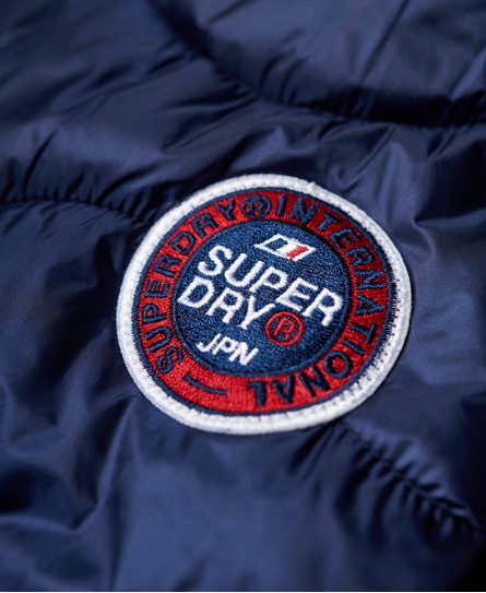 Superdry Wave Quilt Hooded Jacket