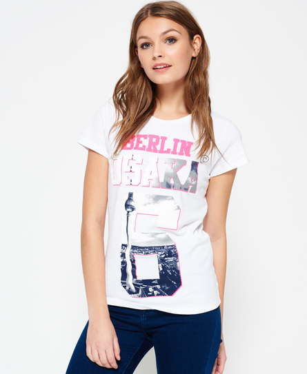Superdry Superdry Limited Edition Osaka Berlin T-shirt
