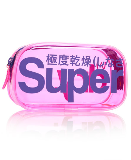 Superdry Neon Bag Pink
