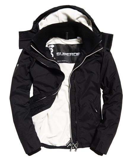 Superdry Superdry Pop Zip Arctic SD-Windcheater jakke med hætte