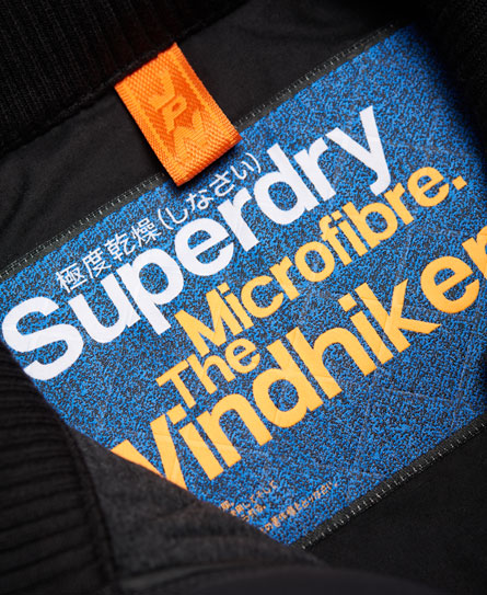 Superdry Microfibre Quilted SD-Windhiker Jacket