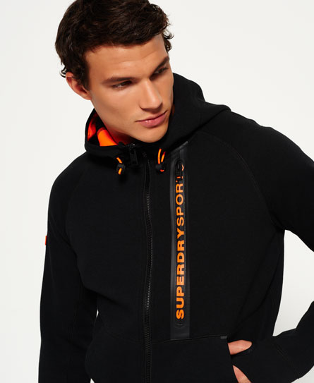 Gym Tech Panel Zip Hoodie