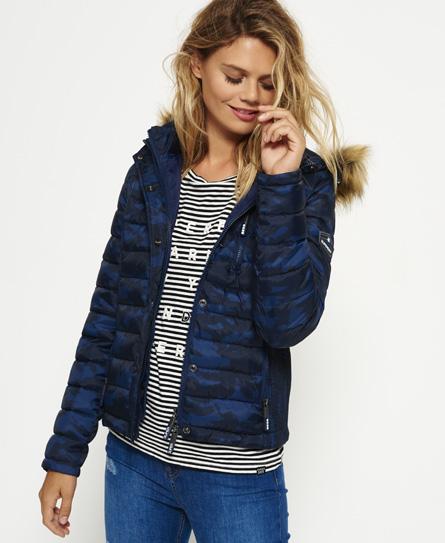 Superdry Fuji Slim Double Zip Hooded Jacket
