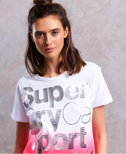 Sport Racer Acid T-Shirt Superdry Sale Genuine Cheap Sale Best Place Buy Cheap Cheap Sale Shop For Comfortable Cheap Price 8MHtz