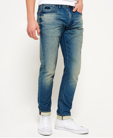 boxer blue used Superdry Wilson Jogger Jeans