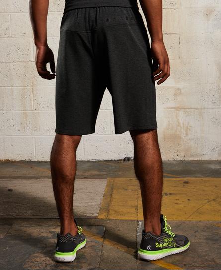 superdry gym training shorts herren shorts. Black Bedroom Furniture Sets. Home Design Ideas