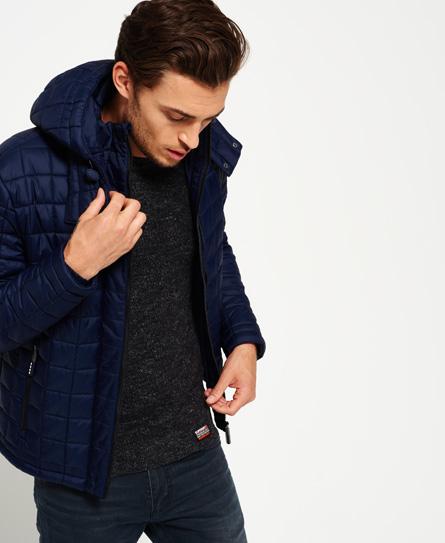 Superdry Hooded Box Quilt Fuji Jacket Men S Jackets