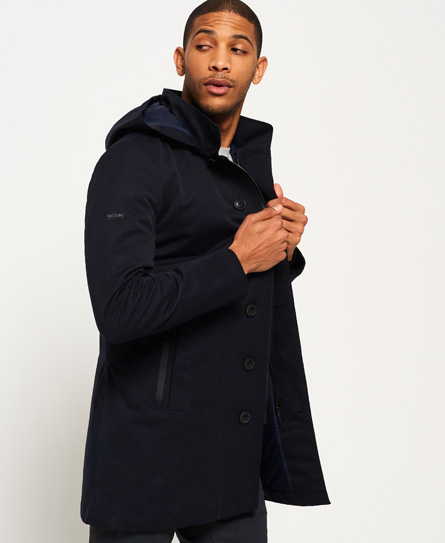 Superdry Trench-coat Idris Borough m70M2iNCw