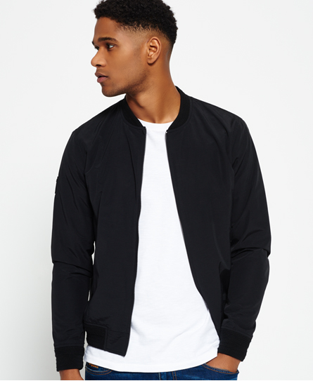 Superdry Surplus Goods Shadow Bomber Jacket Black