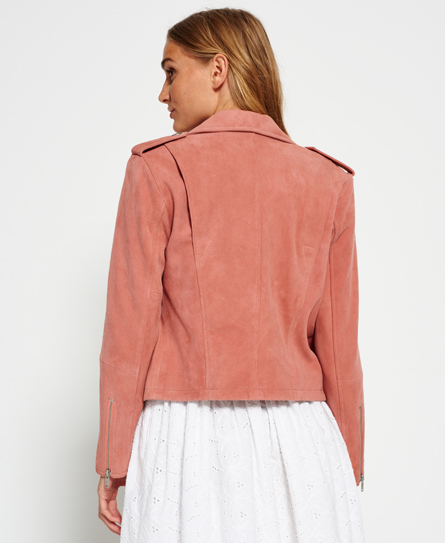 Superdry Suede Biker Jacket