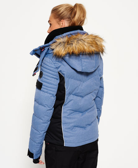 Doudoune De Xzxhx Ski Pour Superdry Femme E9IHDW2