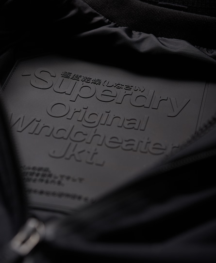 Superdry SD-Windcheater 防風夾克 – 黑色版