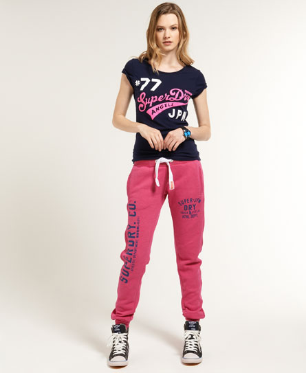 Superdry Trackster Joggers Pink
