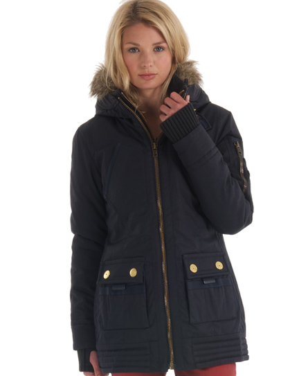 Superdry Patrol Jacket Navy