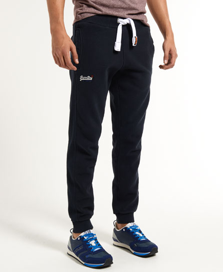 Superdry True Grit Mens Joggers in Eclipse Navy