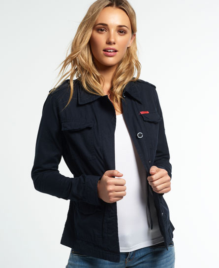 superdry rookie military blazer damen jacken m ntel. Black Bedroom Furniture Sets. Home Design Ideas