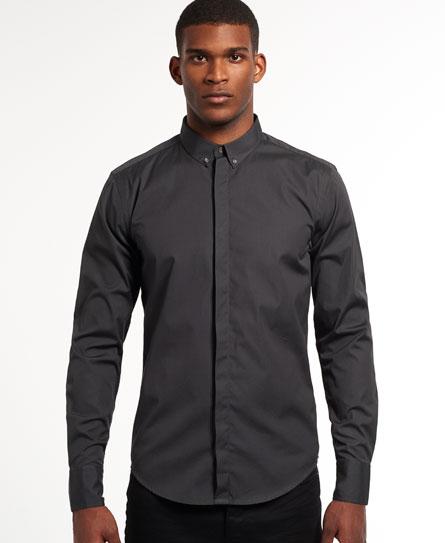 Superdry Leading Button Down Shirt - Mens Idris Shirts