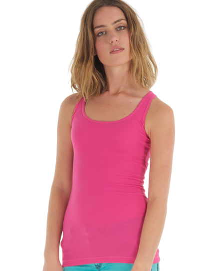 Superdry Classic Tank Top Pink