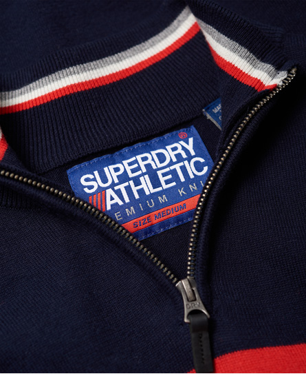 Superdry Athletic Tour Henley Jumper