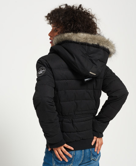 Superdry Microfibre Toggle Puffle jas