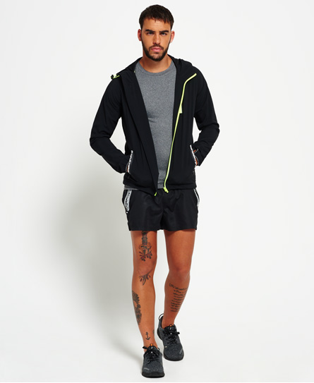 Superdry Sport Active Flash Zip Hooded Jacket