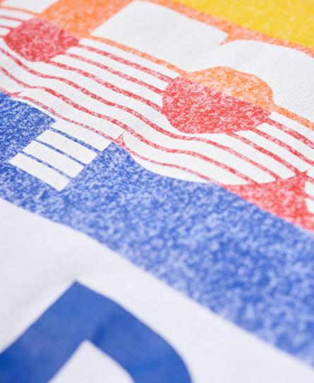 Superdry Langärmeliges Mountaineer T-Shirt mit Einsatz