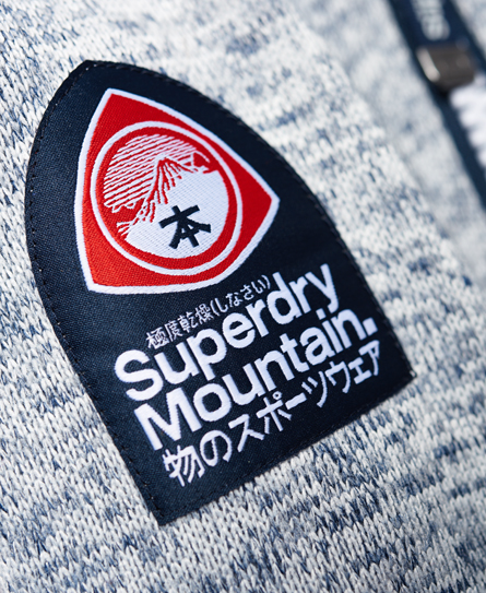 Superdry Storm Double Zip hættetrøje