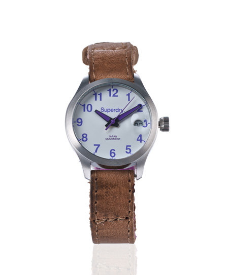 Superdry Aurora Watch Brown