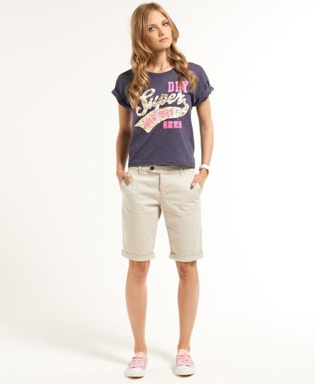 Superdry Sweet Chino Shorts Cream
