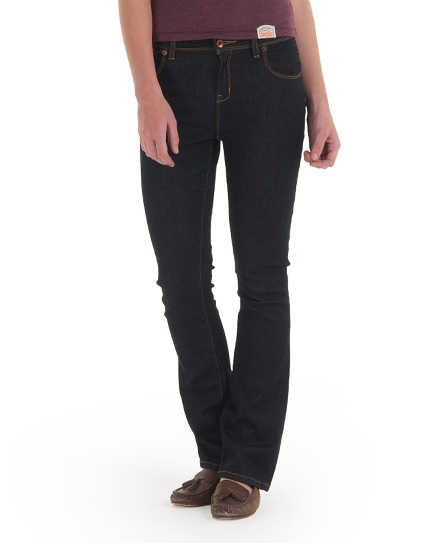 Superdry Vixen Kick Boot Jeans Blue