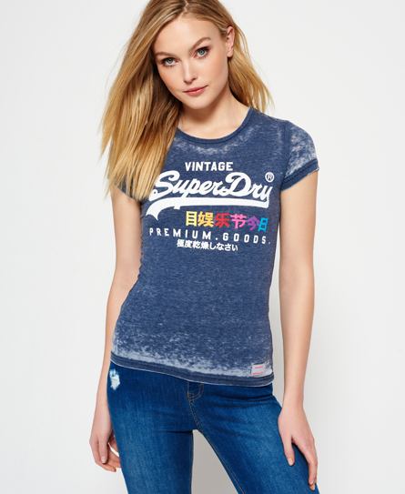 Superdry Superdry Premium Goods devoré T-shirt