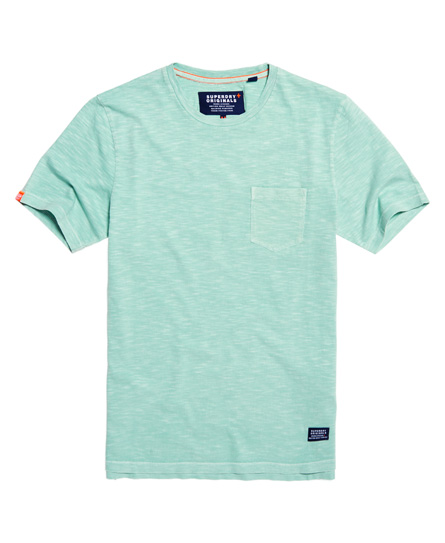 dry spearmint Superdry Originals Pocket T-shirt