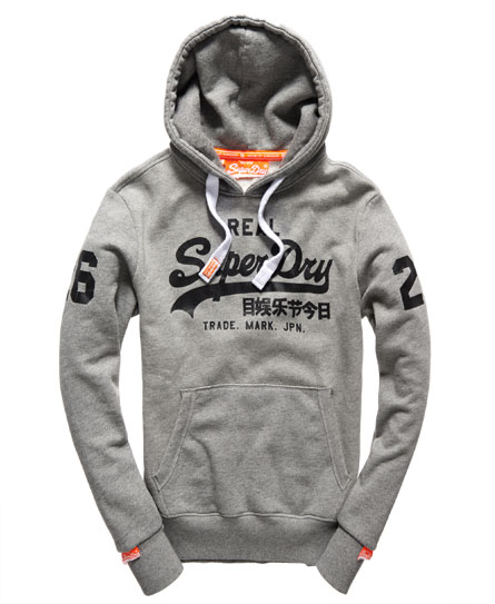 superdry vintage logo hoodie men 39 s hoodies. Black Bedroom Furniture Sets. Home Design Ideas