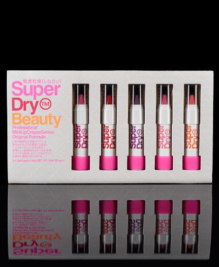 Superdry Mini Lip Crayon Series Multi