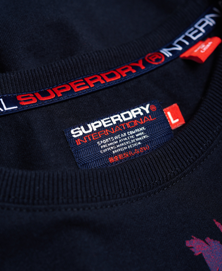 Superdry Crew Neck Palm T-shirt