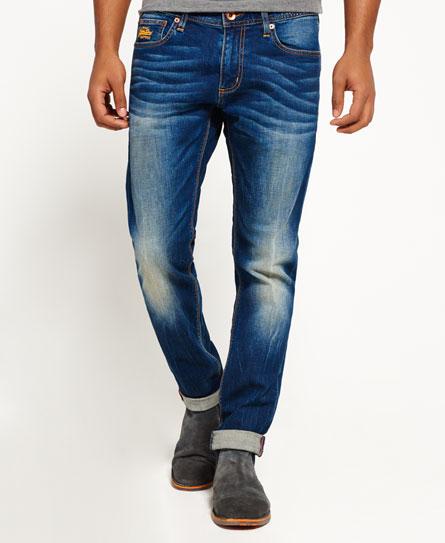 布莱顿蓝 Superdry 修身牛仔裤