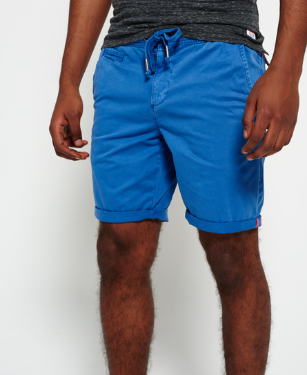 pacific blue Superdry International Sun Scorched Chino Shorts
