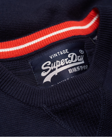 Superdry Embossed Logo Crew Jumper
