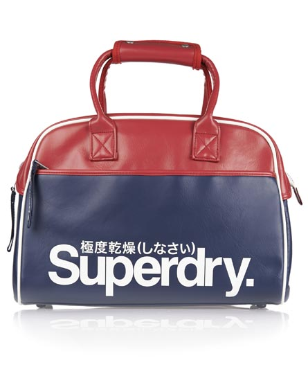 Superdry Tricolour Tennis Tote Navy