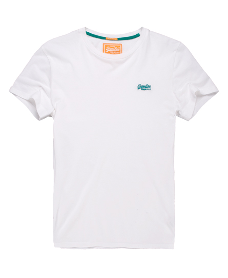 Superdry Embroidered T-shirt White
