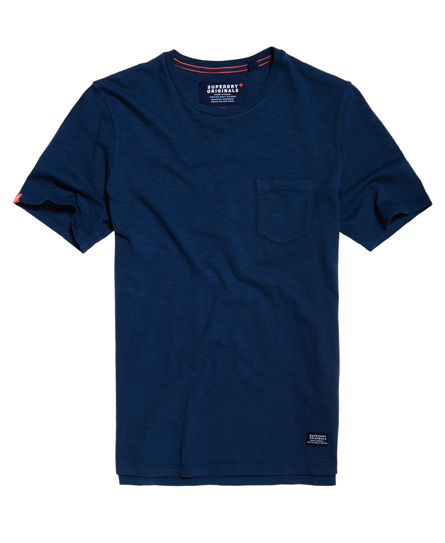 dry nautical navy Superdry Originals Pocket T-shirt