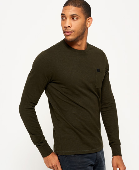 Superdry Superdry Surplus Goods Long Sleeve T-shirt med lomme