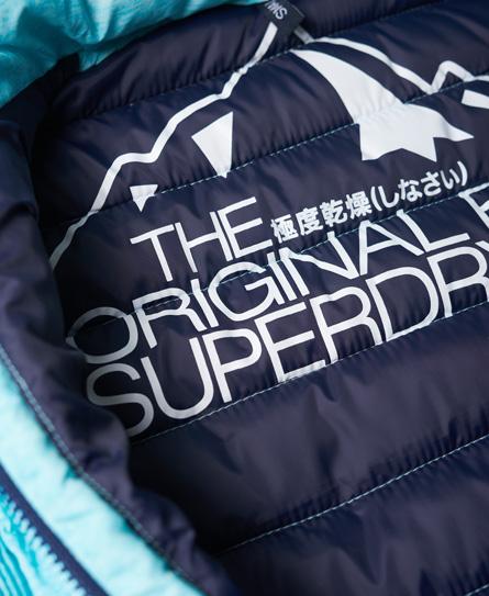 Superdry Schmal geschnittene Fuji Kapuzenjacke mit Doppelreißverschluss