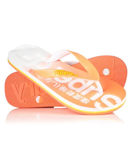 Faded Flip Flops